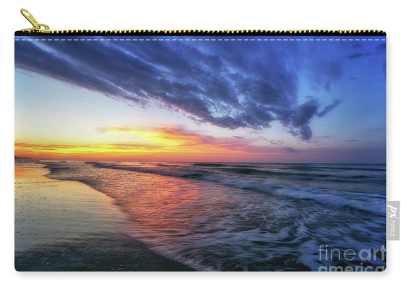 Beach Cove Sunrise Carry-all Pouch