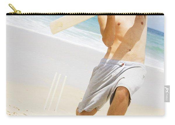 Beach Cricket Slog Carry-all Pouch
