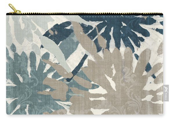 Beach Curry Iv Ikat Carry-all Pouch