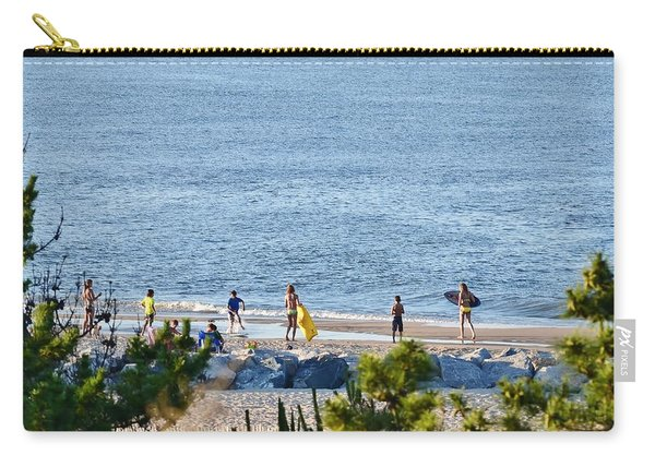 Beach Fun At Cape Henlopen Carry-all Pouch