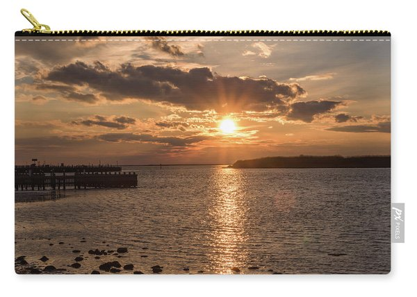 Beach Haven Nj Sunset January 2017 Carry-all Pouch