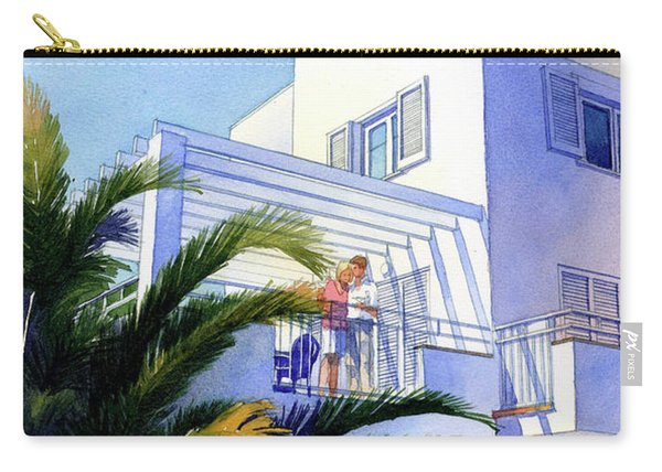 Beach House At Figueres Carry-all Pouch
