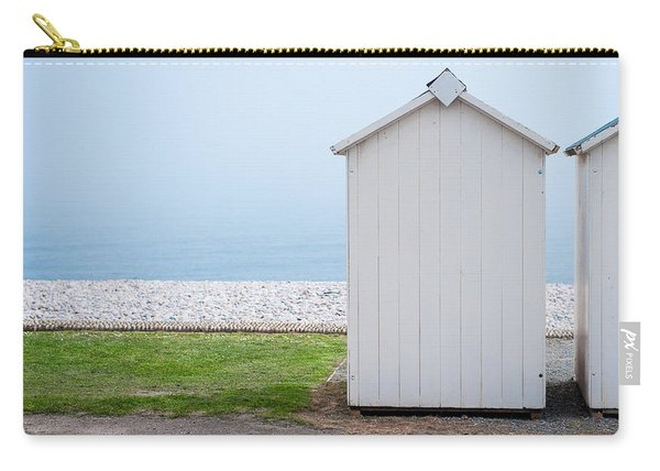 Beach Hut By The Sea Carry-all Pouch