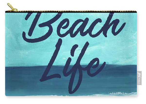 Beach Life- Art By Linda Woods Carry-all Pouch