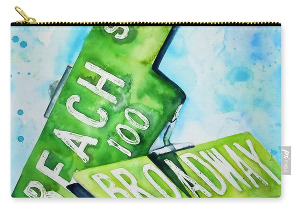 Beach N Broadwary Carry-all Pouch