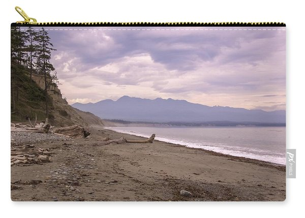 Beach On Dungeness Spit Carry-all Pouch