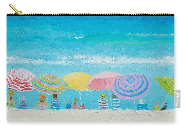 Beach Painting - Color Of Summer Carry-all Pouch