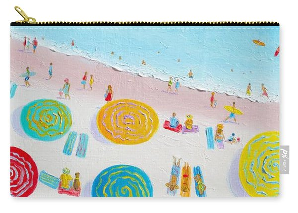 Beach Painting - The Simple Life Carry-all Pouch