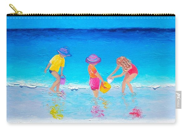 Beach Painting - Water Play  Carry-all Pouch