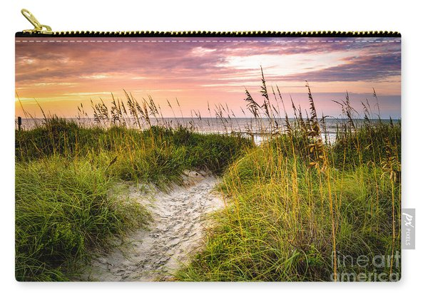 Beach Path Sunrise Carry-all Pouch