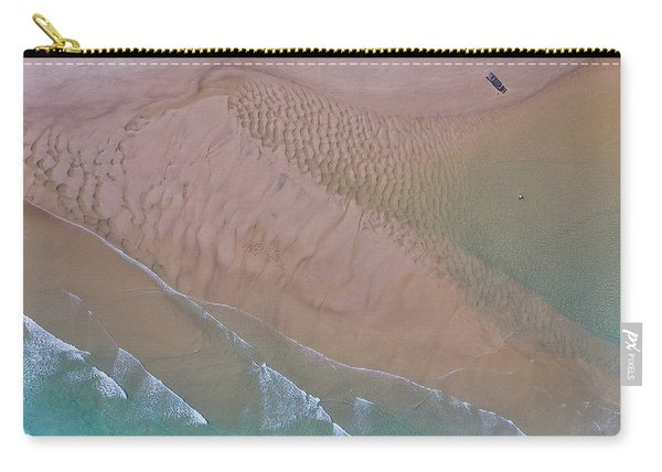 Beach Patterns At North Point On Moreton Island Carry-all Pouch