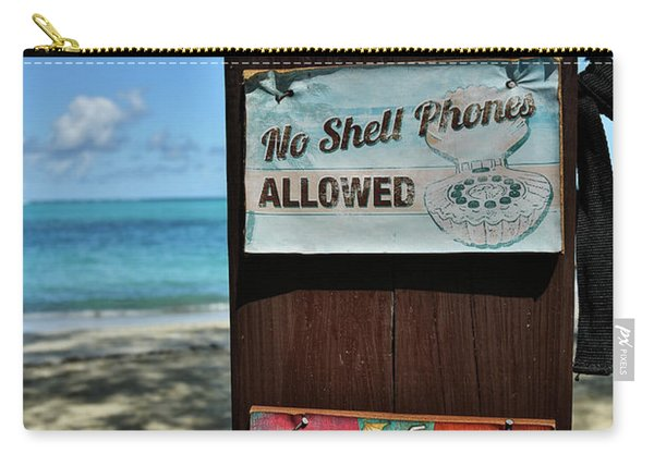 Beach Rules Carry-all Pouch