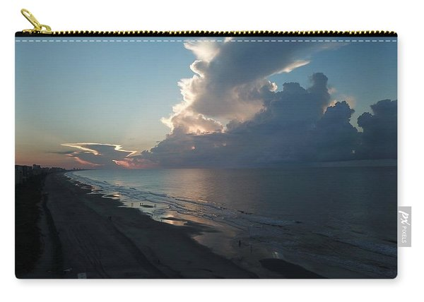 Beach Silver Lining  Carry-all Pouch