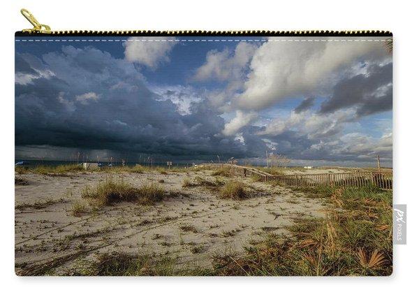 Beach View Rain Clouds  Carry-all Pouch