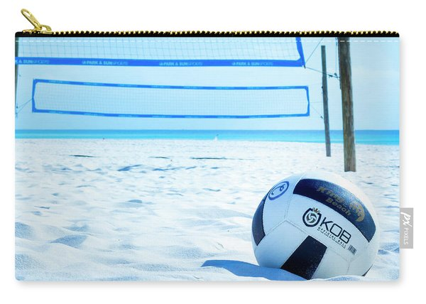 Volleyball On The Beach Carry-all Pouch