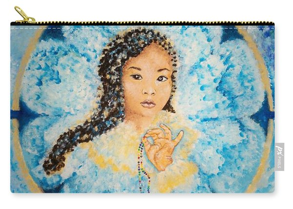 Flying Lamb Productions.        Beads Of Life Carry-all Pouch