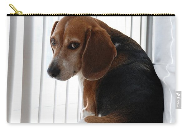 Beagle Attitude Carry-all Pouch