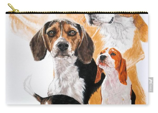 Beagle Hound Medley Carry-all Pouch