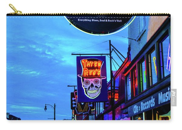 Beale Str. Blues  Carry-all Pouch