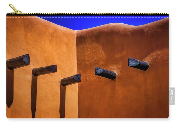 Beams In Adobe Wall Carry-all Pouch
