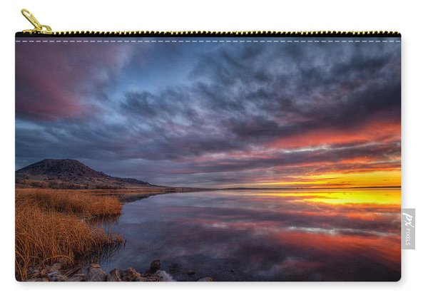 Bear Butte Lake Sunrise Carry-all Pouch