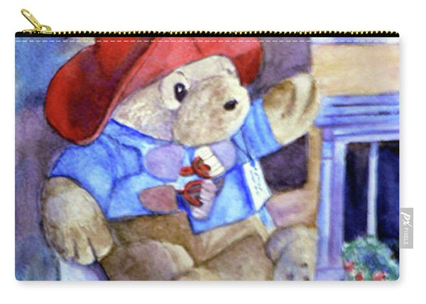 Bear In Venice Carry-all Pouch