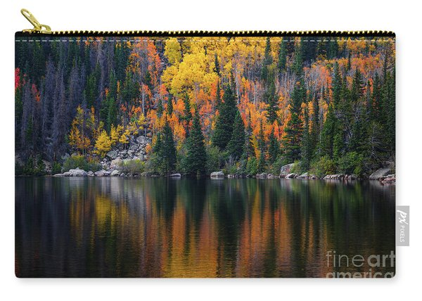 Bear Lake Autumn Reflections Carry-all Pouch