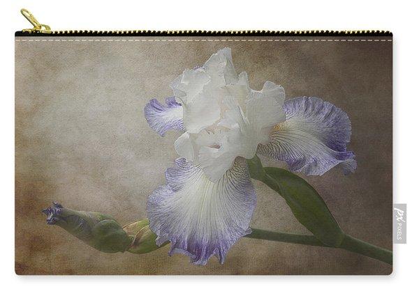 Bearded Iris 'gnuz Spread' Carry-all Pouch
