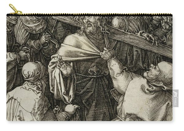Bearing Of The Cross Carry-all Pouch