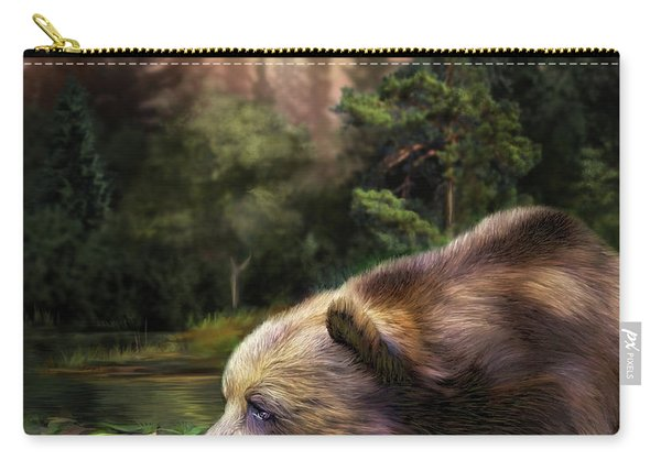 Bear's Eye View Carry-all Pouch