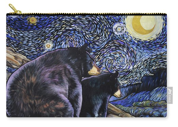 Beary Starry Nights Too Carry-all Pouch