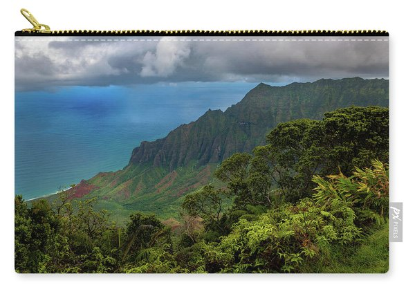 Beautiful And Illusive Kalalau Valley Carry-all Pouch