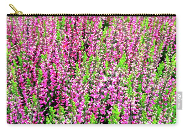 Beautiful Blooming Heather Carry-all Pouch