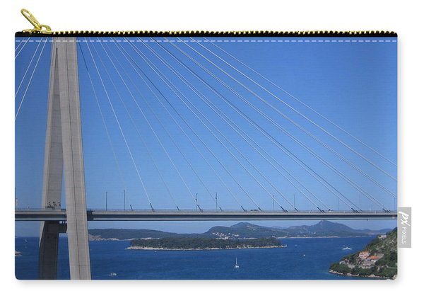Beautiful Bridge In Dubrovnick Carry-all Pouch