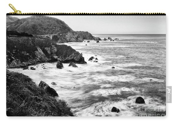 Beautiful Coastal View Of Big Sur In California. Carry-all Pouch