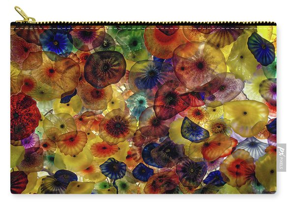 Carry-all Pouch featuring the photograph Beautiful Colors by Michael Colgate