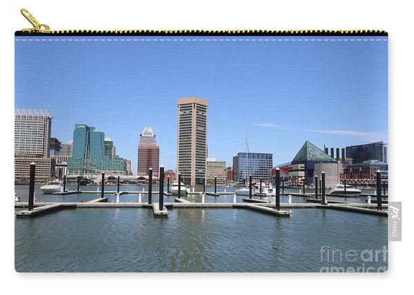 Beautiful Day In Baltimore Carry-all Pouch