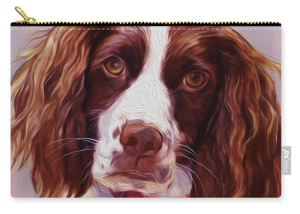 Beautiful  Dog01 Carry-all Pouch