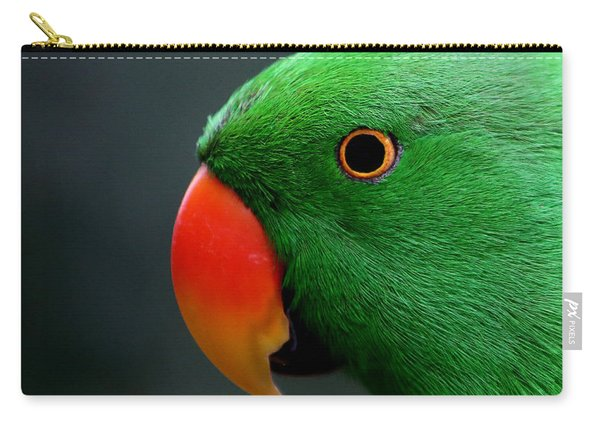 Beautiful Eclectus Parrot Carry-all Pouch