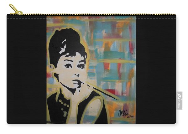 Beautiful Hepburn Carry-all Pouch