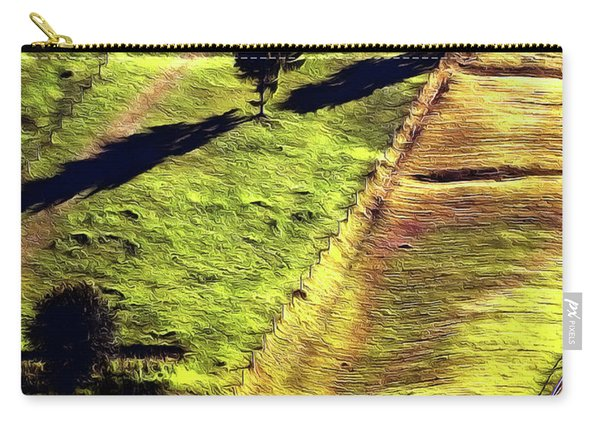 Beautiful Hillside Painting Carry-all Pouch
