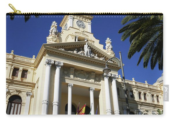 Beautiful Malaga City Hall Carry-all Pouch