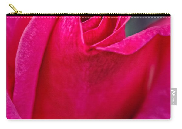 Beautiful Rose Bud Carry-all Pouch
