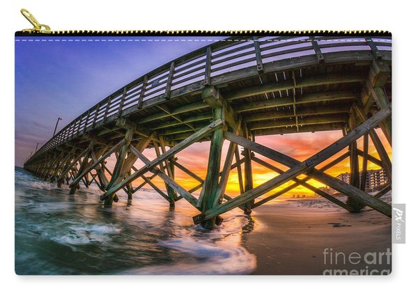Beautiful Sunset In Myrtle Beach Carry-all Pouch
