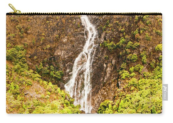 Beautiful Waterfall In Sunlight Carry-all Pouch
