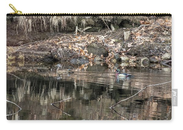 Beautiful Wood Ducks  Carry-all Pouch