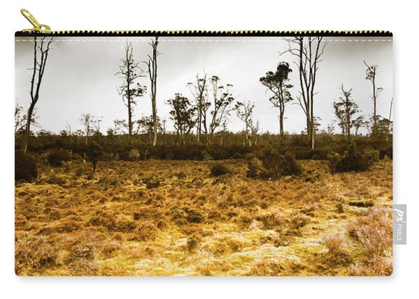 Beauty And Barren Bushland Carry-all Pouch