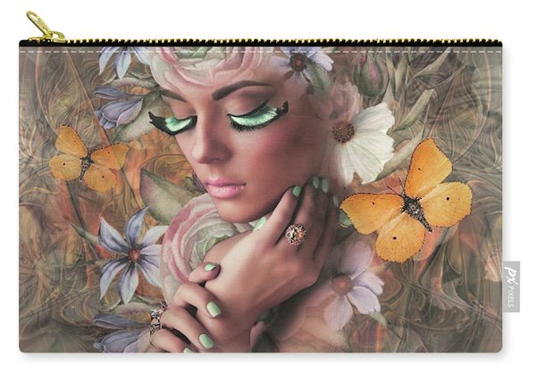 Beauty In Floral Carry-all Pouch
