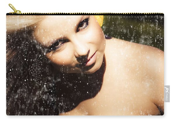 Beauty In Grunge Carry-all Pouch