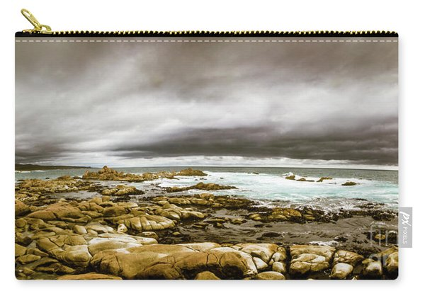 Beauty In Oceanic Drama Carry-all Pouch